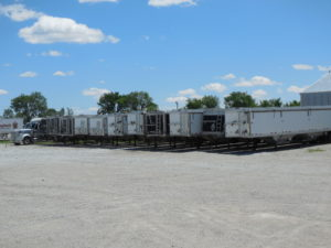 nebraska grain hopper trailer for rent